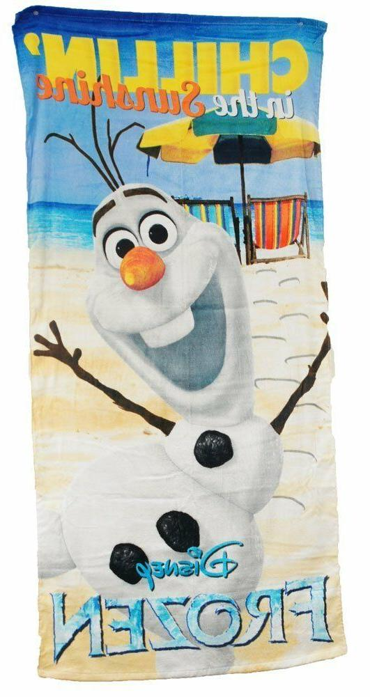 Disney Character Beach Bath Towel