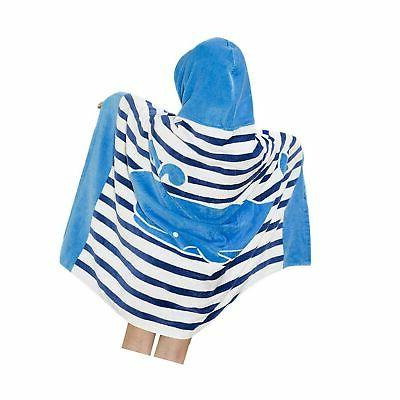 Hooded Bath Towel for Kids Boys Girls 1 to 7 Years Old, Sear