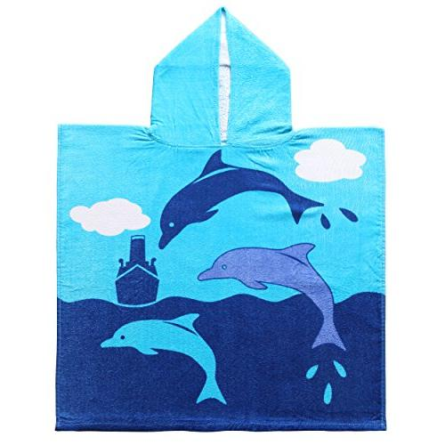 cotton dolphin kids baby hooded