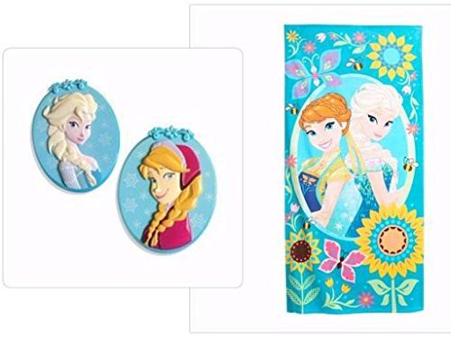 disney frozen beach towel boca