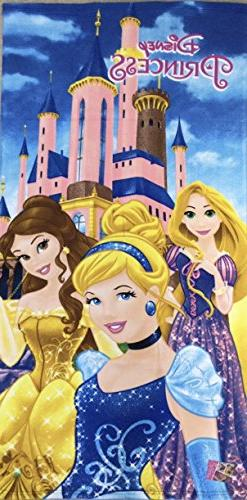 disney princess polyester microfiber touch