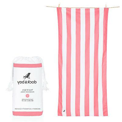 Dock & Bay Quick Dry Towel - Sunset Red - Large  - Cabana