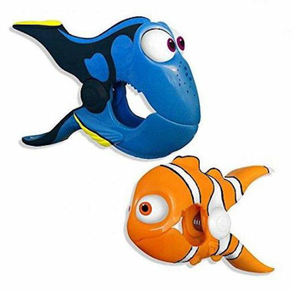 Boca Clips Dory and Nemo Towel Clips for Beach Chairs Cruise