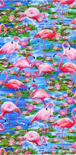 flamingo beach towel 30x 60 flamingo towel