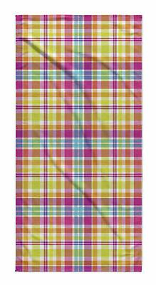 Latitude Run Harloe Plaid Beach Towel