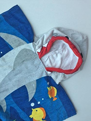 Hooded Towel Toddler/Kid Cotton, Use for and Pool, Extra Large and Soft Seasons, Theme
