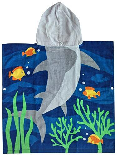 Hooded One to Toddler/Kid Boys, Cotton, for Pool, Extra 24X48 inches, Ultra Breathable and for Seasons, Theme