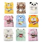 IK- Baby Infant Toddler Bath Towel Soft Warm Wrap Hooded Rob