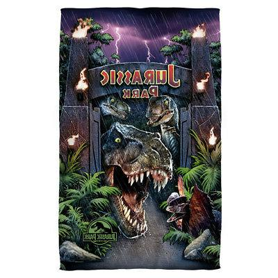 Jurassic Park Movie Poster WELCOME TO THE PARK Dinosaurs Lig