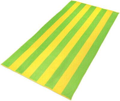 Kaufman ?? 100% Velour Striped And Pool Towel ?? 30in