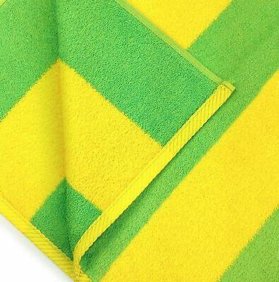 Kaufman ?? Velour Striped And Pool Towel 4-Pack 30in X