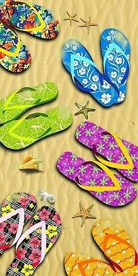 KAUFMAN - Beach Sandals Beach, Bath, Pool, Sauna Towel. 30in