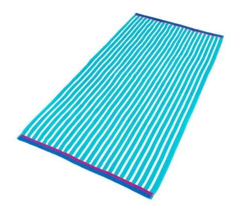 KAUFMAN Stripe Towel - x 62in