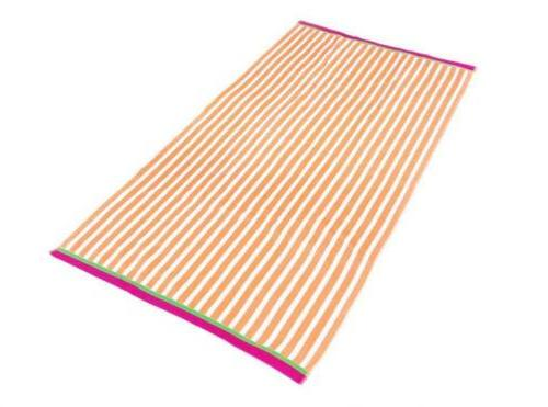 KAUFMAN - Racing Stripe Beach Towel x
