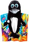Kids Hooded Beach Towel,Bath Towel Whale with Ponchu Hood,Fo