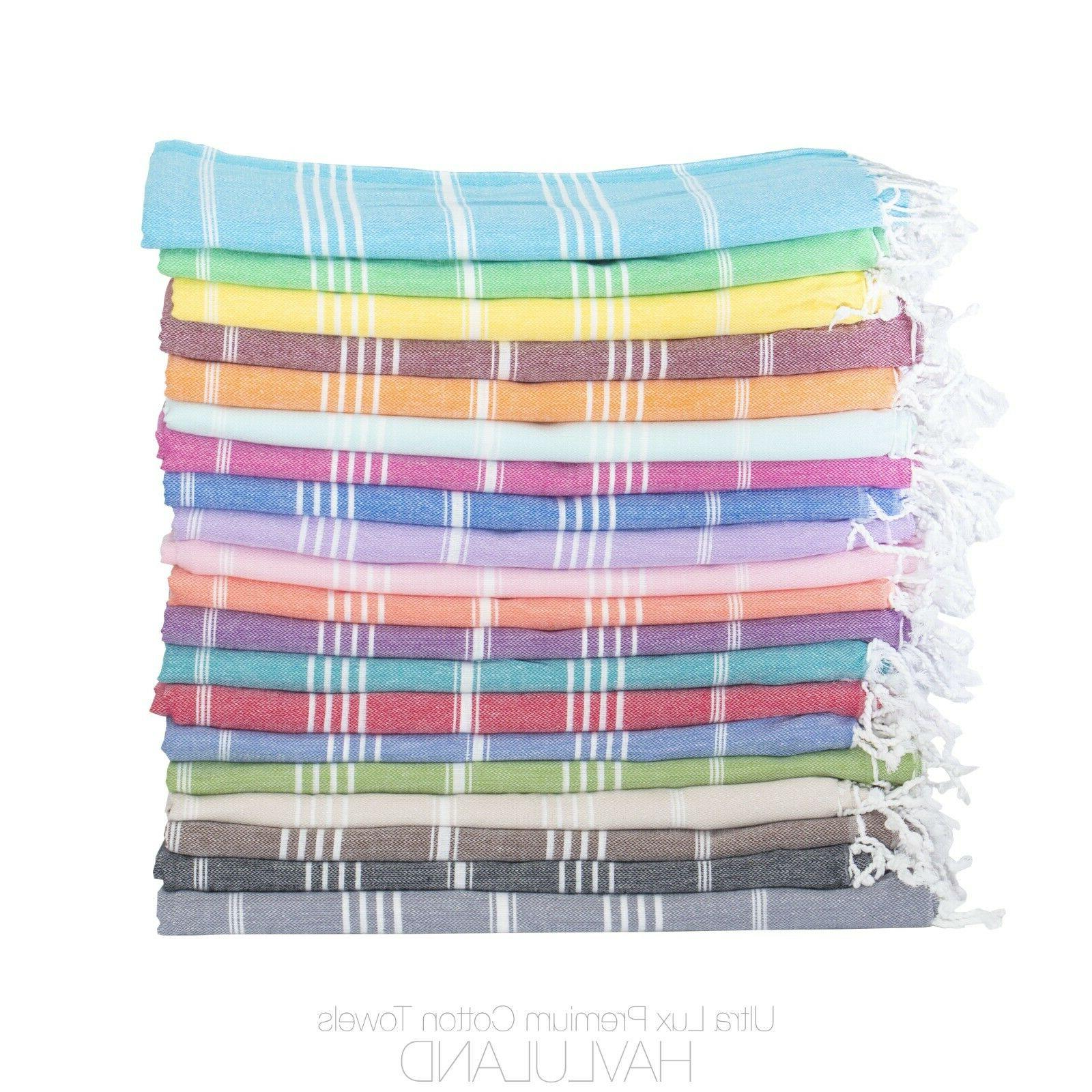 Turkish Towel Peshtemal Beach Bath Spa Gym Pool