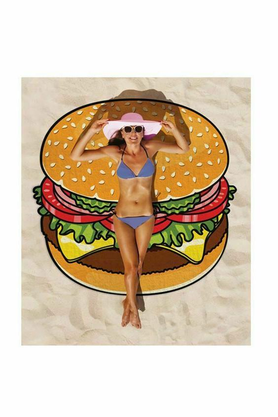 Lovely Washcloth Sunscreen Printing Scarf Summer Beach Towel Yoga Mat
