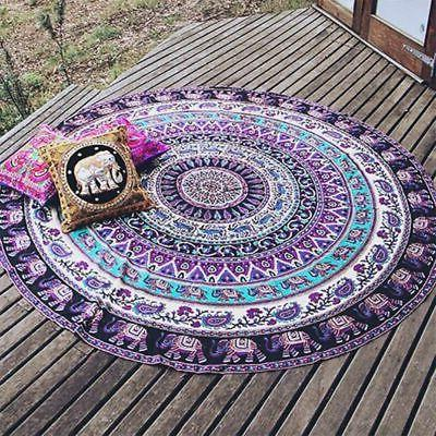 Tapestry Beach Throw Boho Indian Hippie Blanket