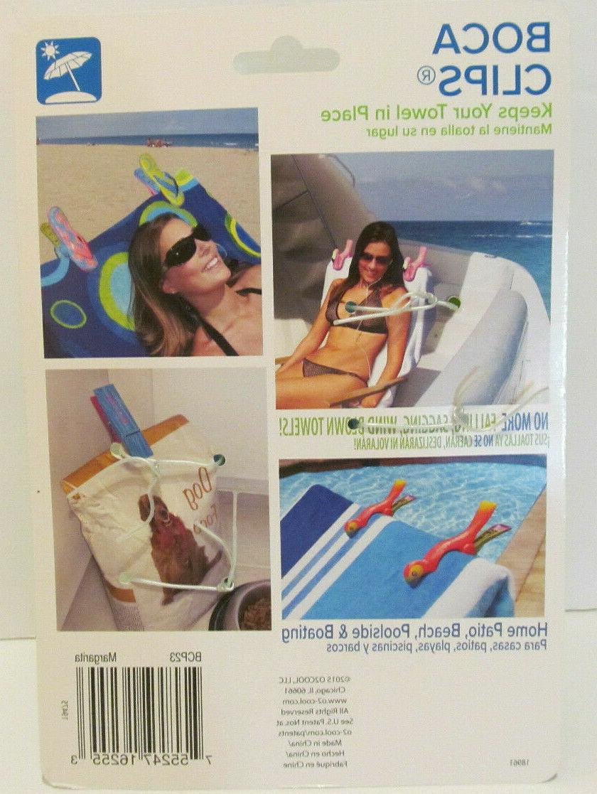 Margarita Clip, Tightly clips your beach towel chairs
