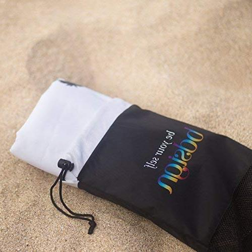 Microfiber Beach Towel Large & - or Beach Towel. Best & Drying & Super Absorbent Technology