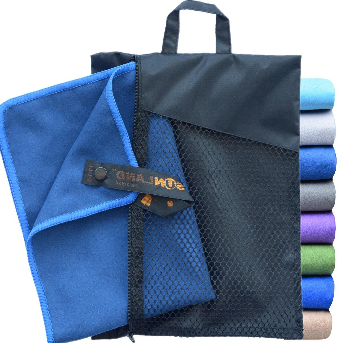 Sunland Microfiber Towel Sports Quick Outdoor