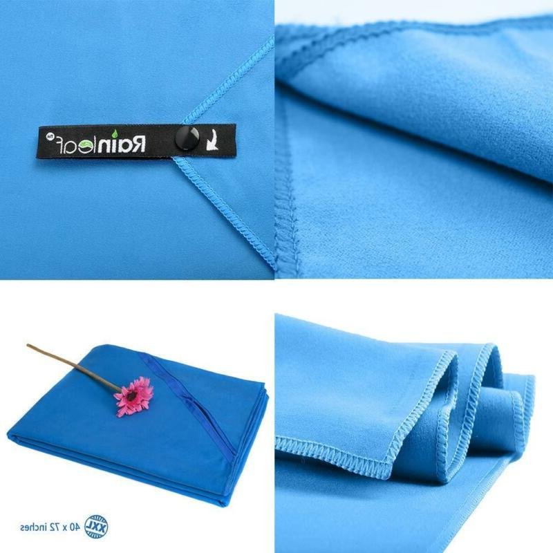 Rainleaf Microfiber Towel Perfect Fast