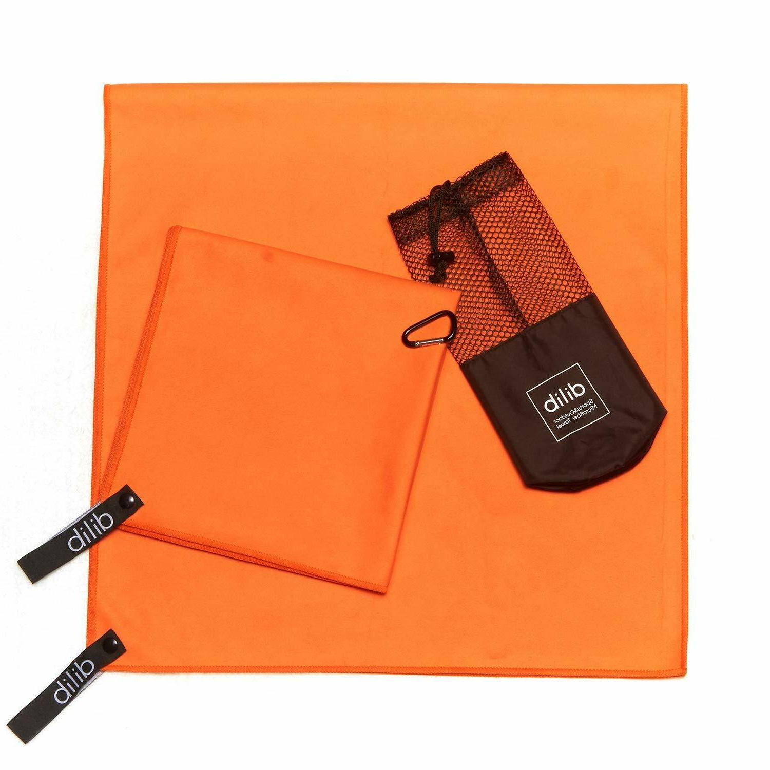 Microfiber Travel 2Pack Dry Gym Beach Camping