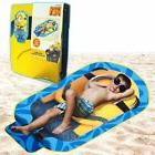 "Minion Shaped Kids Beach Towel 34 x 58"" Designer Funny Soft"