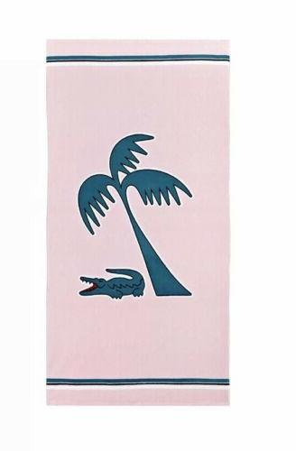 Lacoste Murphy Cotton x Beach Towel Pink