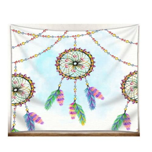 National Style Watercolor Dream Catcher Pattern Towel