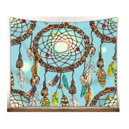 National Style Watercolor Catcher Beach Towel