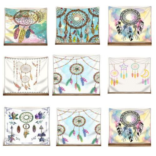 national style watercolor dream catcher pattern tapestries