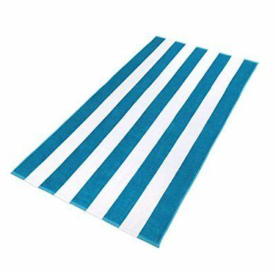NEW KAUFMAN - Cotton Cabana & Pool Towel 4-Pack - 30in x 60in