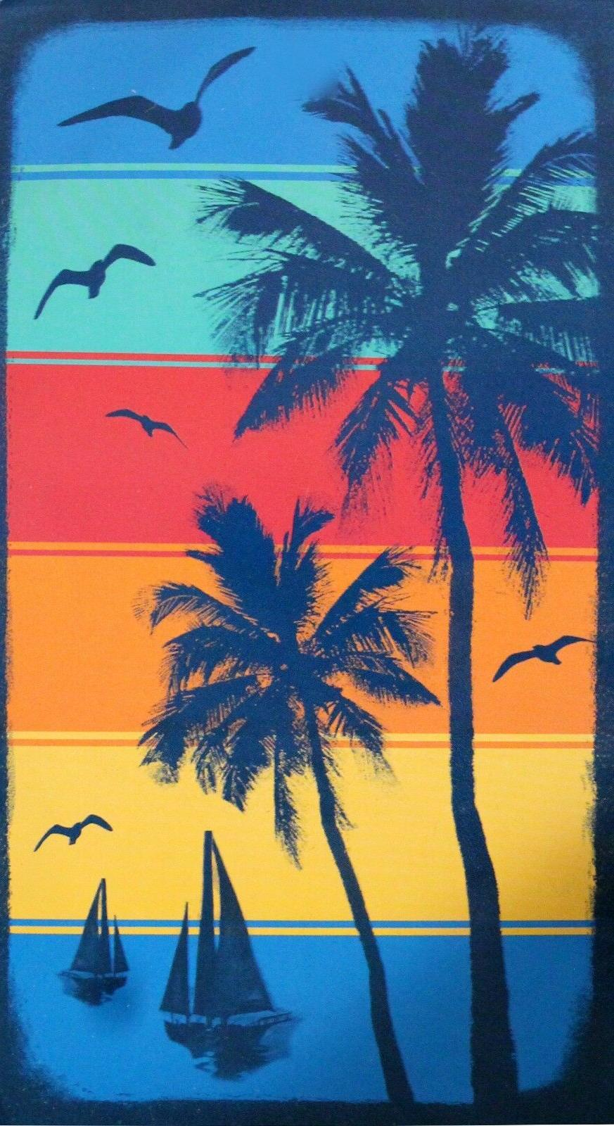 NEW 40 in. 72 in. Beach Towel, Egyptian Cotton
