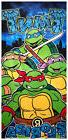 Ninja Turtles Velour Beach Towel