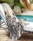 "NWT Natori Safari Oversized Beach Pool Towel 40"" x 70"" 100%"