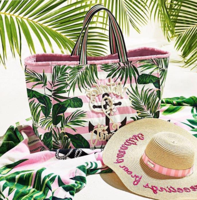 NWT Victoria's Secret Anchor Paradise Beach Vacation Pink To