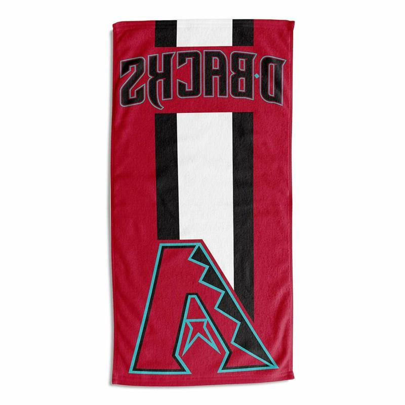 Officially Licensed Mlb Zone Read Beach Towel, Absorbent, To