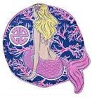 Simply Southern Oversized Beach Towel Mermaid Design SS New