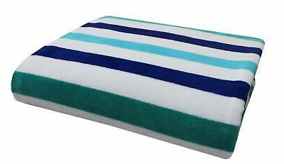oversized woven velour beach towel huge 58x68