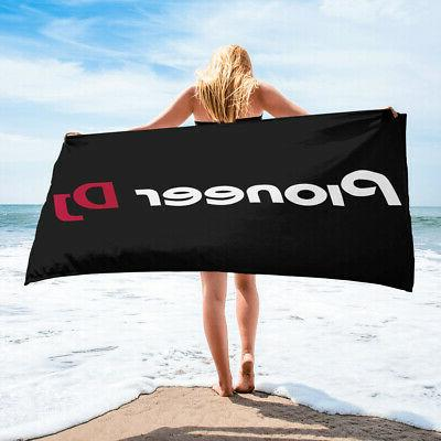pioneer dj florida beach towel spa beachwear