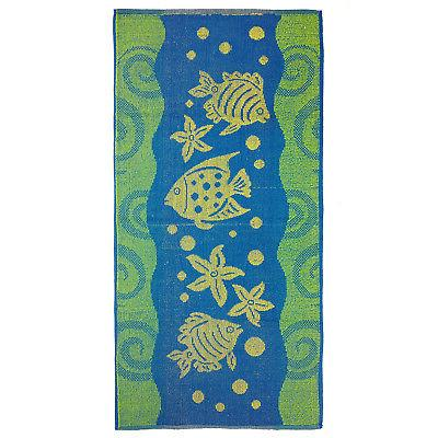 KAUFMAN- PROMO ASSORTED JACQUARD BEACH TOWEL SET 4PC 30x60