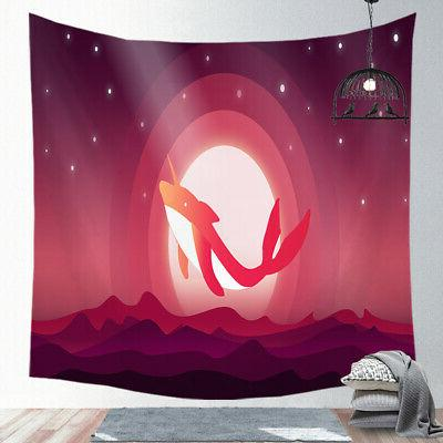 Psychedelic Beach Towel Throw USA