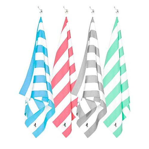 Dock Set of Large Beach Towels for & Travel