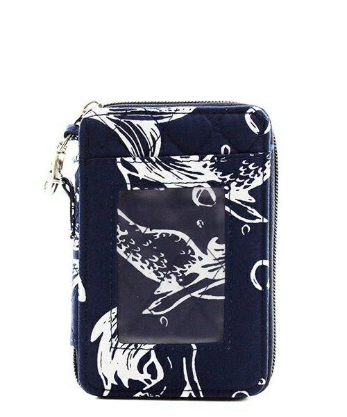 Quilted Wristlet Card Wallet Free Shipping! NEW Beach