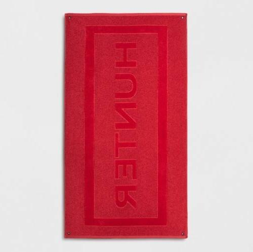 red beach towel for target 40 x