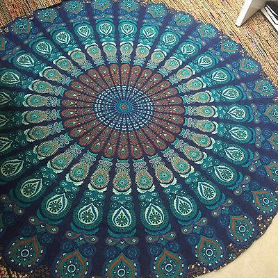 Round Tapestry Towel Tablecloth