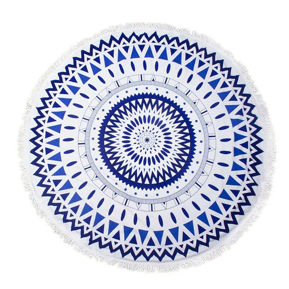 round thick terry 60 beach towel 1lb