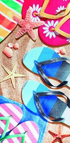 Bahia Collection by Dohler Sandals velour brazilian beach to