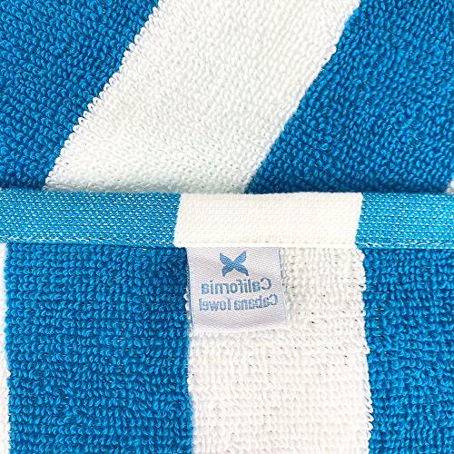 Arkwright Striped Oversized | Set Large x | 100% Double Yarn Strength | Perfect Beach Towel,